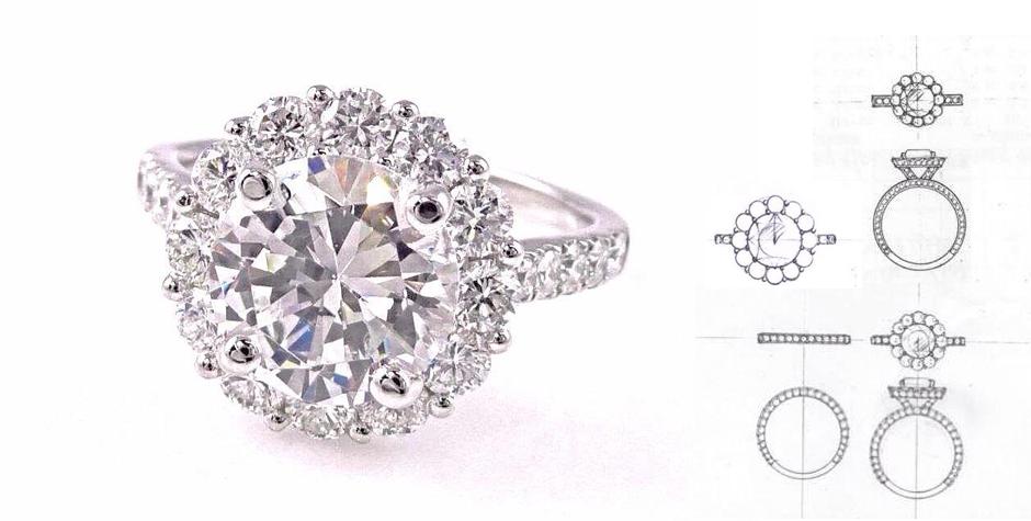 Custom Jewelry design and creation